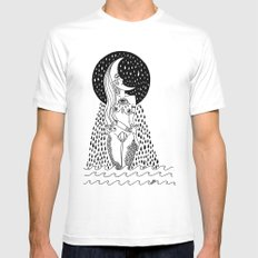 luna llorona Mens Fitted Tee SMALL White