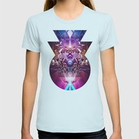 Vanguard mkiv Womens Fitted Tee Light Blue SMALL