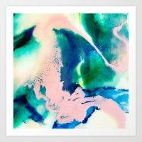 Rosea Oceanus Art Print