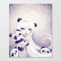 Panda: Protection Series Canvas Print