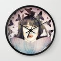 The Time of Butterflies Wall Clock