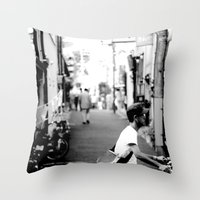 Japan Christmas 2012 #6 Throw Pillow