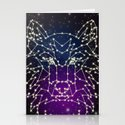 Wolf Constellation Stationery Cards