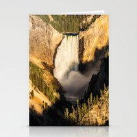 Lower Falls Of The Yello… Stationery Cards