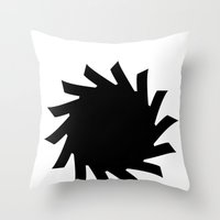 Sun 03 Throw Pillow