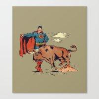 Matador Of Steel Canvas Print