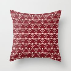 Triangle Time Throw Pillow