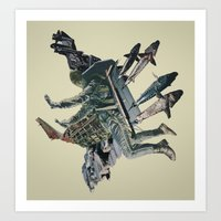 The Burden Art Print