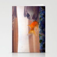 Fish In Trouble Stationery Cards
