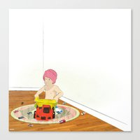 Things That Go Canvas Print
