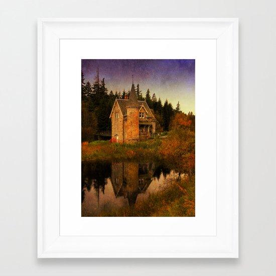 """""""The Old House"""" Framed Art Print"""