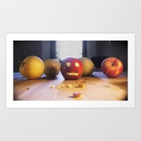 This halloween I want to be a pumpkin!!! Art Print