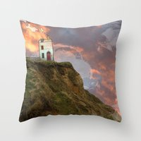 Gobblynne House Throw Pillow