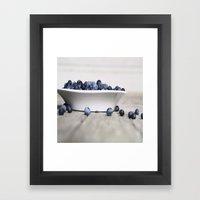 Blueberry Hill Framed Art Print
