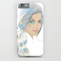 iPhone & iPod Case featuring Peacock Rai by Anna-Lise