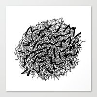 Modern Lace Canvas Print