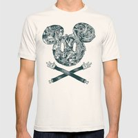 The Mouse Mens Fitted Tee Natural SMALL