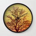 Bare Tree Vintage Wall Clock
