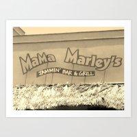 Jamaica - Mama Marleys Art Print