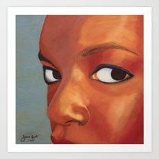 Kenyan Queen Art Print