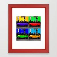 Eastern Germany Car - Trabant 601s Framed Art Print