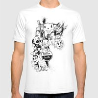 Better Teeth Mens Fitted Tee White SMALL