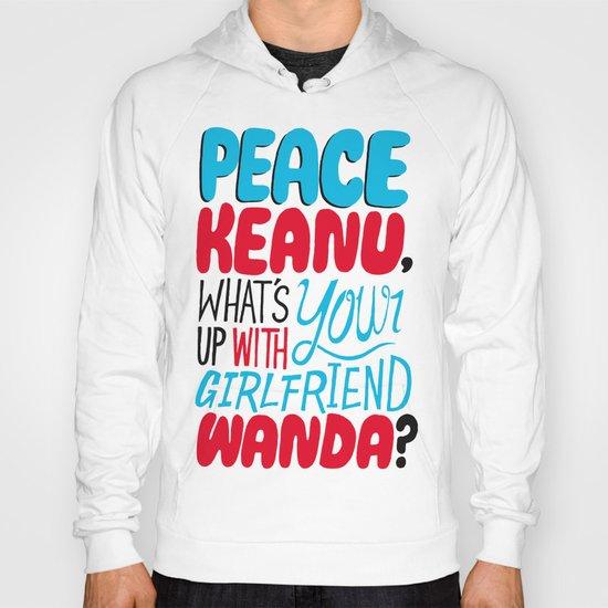 Peace Keanu Hoody