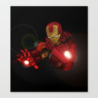 Ironman MK1  Canvas Print