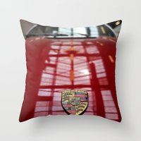 Porsche 911 / I Throw Pillow