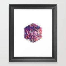 Amour Framed Art Print