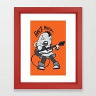 Beck: Ryusuke's T-shirt … Framed Art Print