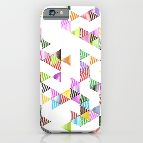 Technicolour Raindrops iPhone & iPod Case