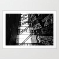 Ladder Art Print