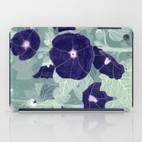 Dark florals iPad Case