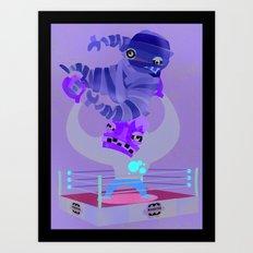 monsters Art Print