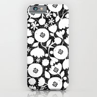iPhone & iPod Case featuring clear cut flowers by ottomanbrim