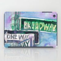 Broadway Sign iPad Case