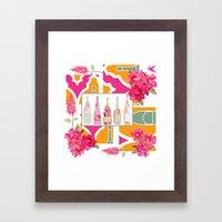 Champagne Everyday Framed Art Print