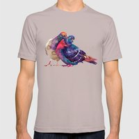 Pigeons Mens Fitted Tee Cinder SMALL