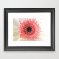 What a Peach Framed Art Print