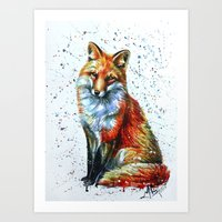 FOX 2 Art Print
