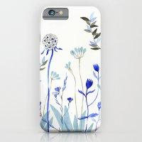Blue Garden iPhone 6 Slim Case