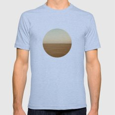 Infinite Desert Mens Fitted Tee Athletic Blue SMALL