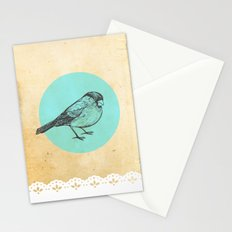 Spotted bird Stationery Cards