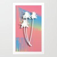 Hot 90's Art Print