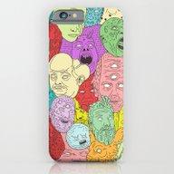 Faces Of Math iPhone 6 Slim Case