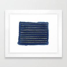 Nautical Sparkle Framed Art Print