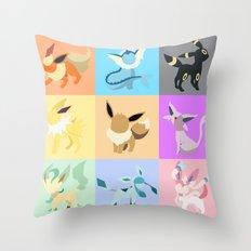 eevolution Throw Pillow