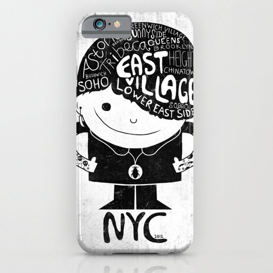 NYC Club Kid 2012 iPhone & iPod Case