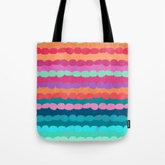 Brite Stripe Tote Bag